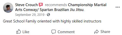 Adult2, Championship Martial Arts- Conway FL